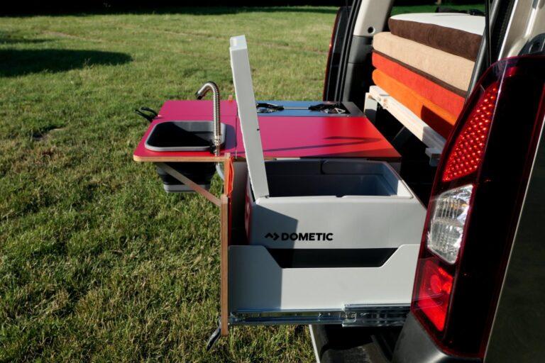 Mini campervan - fridge