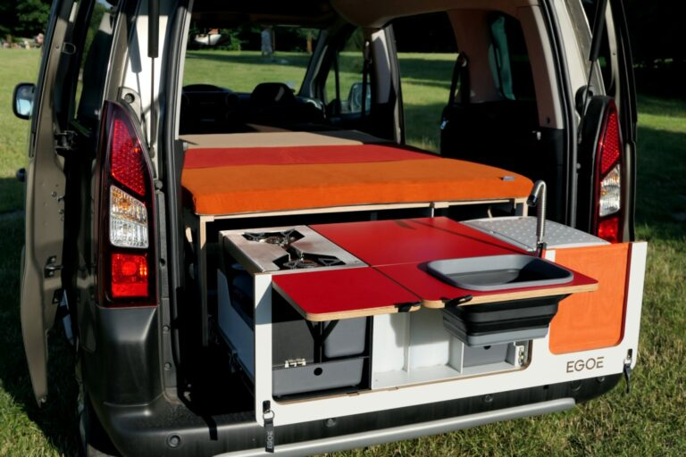 Mini campervan
